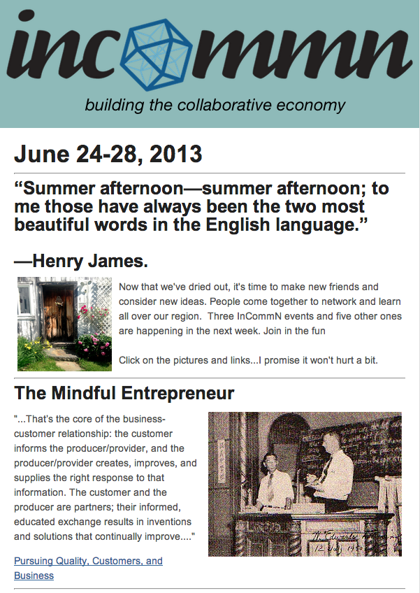 The InCommN Newsletter