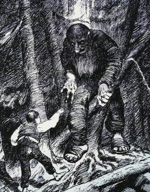 Theodor Kittelsen Askeladden