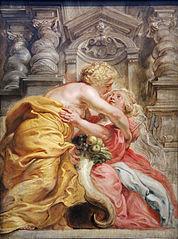 0 La Paix embrassant lAbondance - P.P Rubens - Yale center for British Art