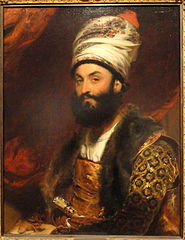 185px-Mirza Abul Hassan Khan by Thomas Lawrence 1810 - Fogg Art Museum - DSC02319