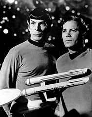 189px-Leonard Nimoy William Shatner Star Trek 1968
