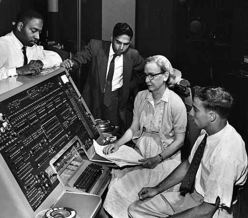 Grace Hopper and UNIVAC copy