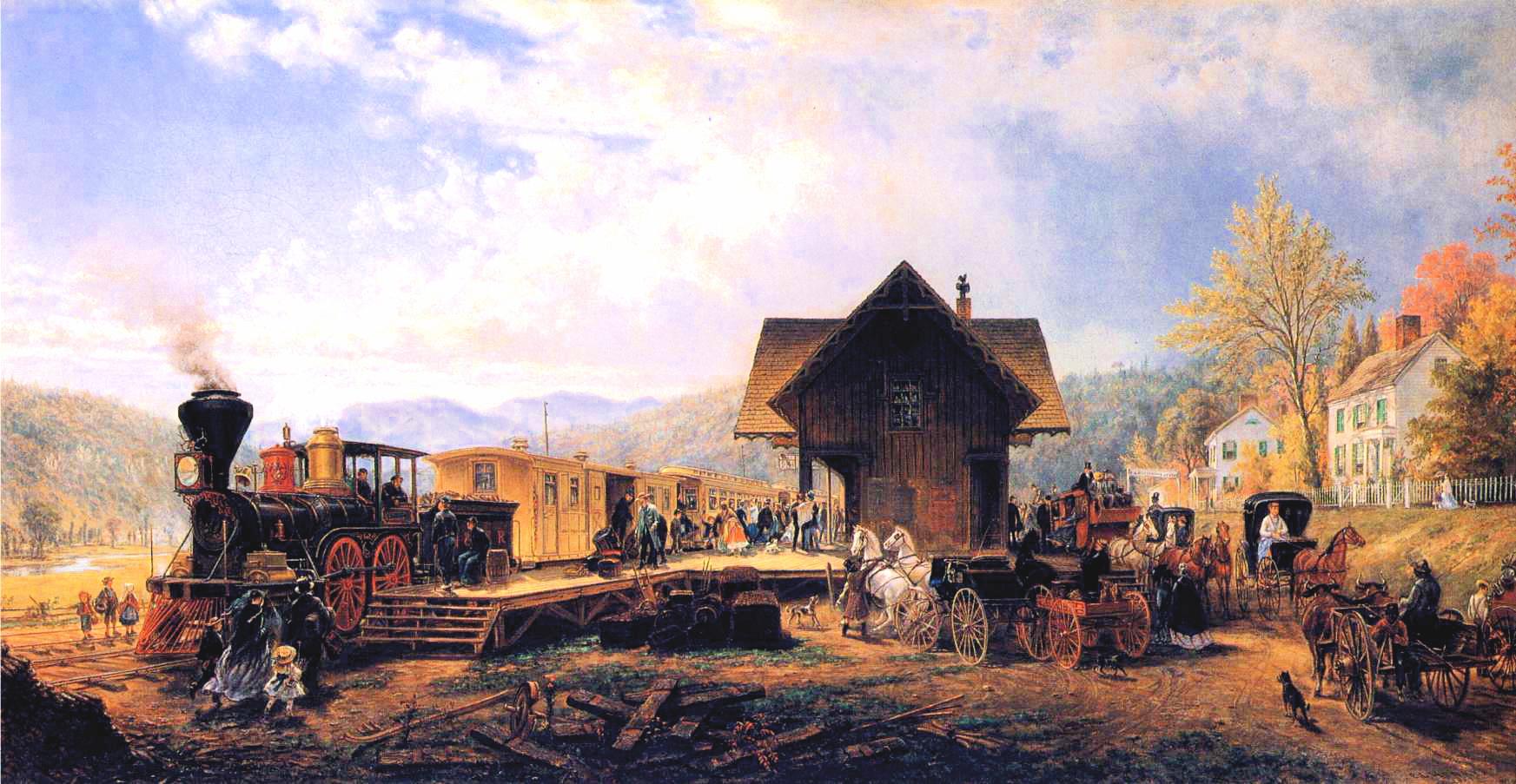 Edward Lamson Henry - The 945 Accommodation